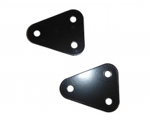 Seat forward brackets iron short 78mm 50mm transfer